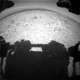 Nasa's Mars rover Curiosity acquired this image using its Front Hazard Avoidance Camera (Front Hazcam) on Sol 403, at drive 508, site number 16