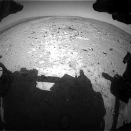 Nasa's Mars rover Curiosity acquired this image using its Front Hazard Avoidance Camera (Front Hazcam) on Sol 403, at drive 532, site number 16