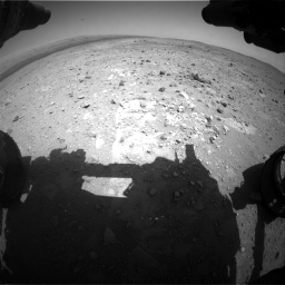 Nasa's Mars rover Curiosity acquired this image using its Front Hazard Avoidance Camera (Front Hazcam) on Sol 403, at drive 544, site number 16