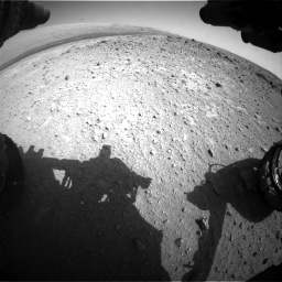 Nasa's Mars rover Curiosity acquired this image using its Front Hazard Avoidance Camera (Front Hazcam) on Sol 403, at drive 958, site number 16