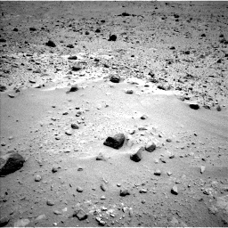 Nasa's Mars rover Curiosity acquired this image using its Left Navigation Camera on Sol 403, at drive 418, site number 16