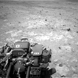 Nasa's Mars rover Curiosity acquired this image using its Left Navigation Camera on Sol 403, at drive 436, site number 16