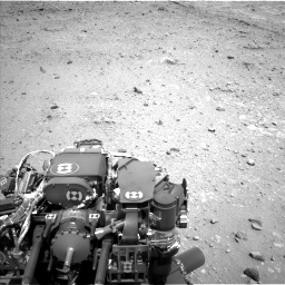 Nasa's Mars rover Curiosity acquired this image using its Left Navigation Camera on Sol 403, at drive 664, site number 16
