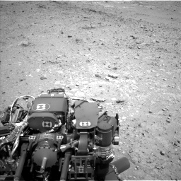 Nasa's Mars rover Curiosity acquired this image using its Left Navigation Camera on Sol 403, at drive 688, site number 16
