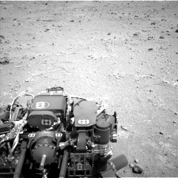 Nasa's Mars rover Curiosity acquired this image using its Left Navigation Camera on Sol 403, at drive 760, site number 16