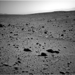 Nasa's Mars rover Curiosity acquired this image using its Left Navigation Camera on Sol 403, at drive 1018, site number 16