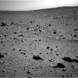 Nasa's Mars rover Curiosity acquired this image using its Left Navigation Camera on Sol 403, at drive 1030, site number 16