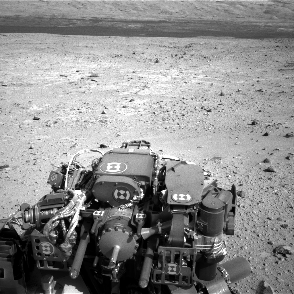 Nasa's Mars rover Curiosity acquired this image using its Left Navigation Camera on Sol 403, at drive 1052, site number 16