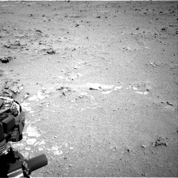 Nasa's Mars rover Curiosity acquired this image using its Right Navigation Camera on Sol 403, at drive 742, site number 16