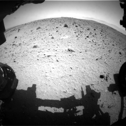 Nasa's Mars rover Curiosity acquired this image using its Front Hazard Avoidance Camera (Front Hazcam) on Sol 404, at drive 1514, site number 16