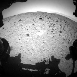 Nasa's Mars rover Curiosity acquired this image using its Front Hazard Avoidance Camera (Front Hazcam) on Sol 404, at drive 1526, site number 16
