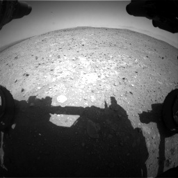 Nasa's Mars rover Curiosity acquired this image using its Front Hazard Avoidance Camera (Front Hazcam) on Sol 404, at drive 1220, site number 16