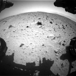 Nasa's Mars rover Curiosity acquired this image using its Front Hazard Avoidance Camera (Front Hazcam) on Sol 404, at drive 1544, site number 16