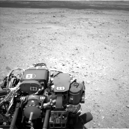 Nasa's Mars rover Curiosity acquired this image using its Left Navigation Camera on Sol 404, at drive 1256, site number 16
