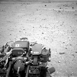 Nasa's Mars rover Curiosity acquired this image using its Left Navigation Camera on Sol 404, at drive 1346, site number 16