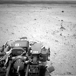 Nasa's Mars rover Curiosity acquired this image using its Left Navigation Camera on Sol 404, at drive 1454, site number 16