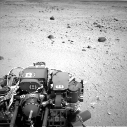 Nasa's Mars rover Curiosity acquired this image using its Left Navigation Camera on Sol 404, at drive 1562, site number 16