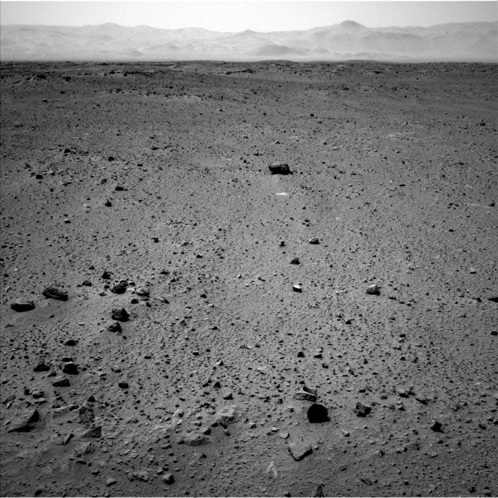 NASA's Mars rover Curiosity acquired this image using its Left Navigation Camera (Navcams) on Sol 404