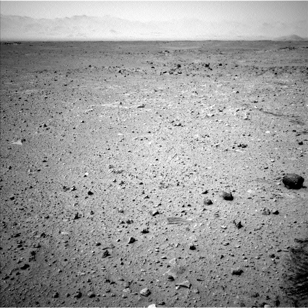 Nasa's Mars rover Curiosity acquired this image using its Left Navigation Camera on Sol 404, at drive 1584, site number 16