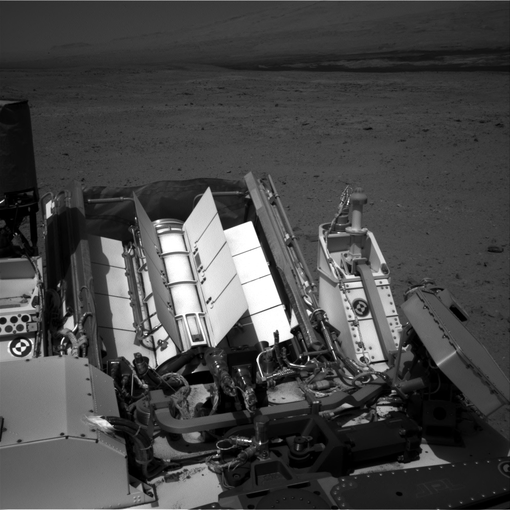 Nasa's Mars rover Curiosity acquired this image using its Right Navigation Camera on Sol 404, at drive 1584, site number 16