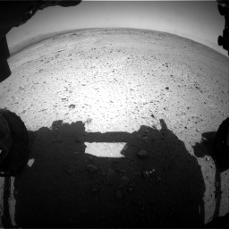 Nasa's Mars rover Curiosity acquired this image using its Front Hazard Avoidance Camera (Front Hazcam) on Sol 406, at drive 1944, site number 16