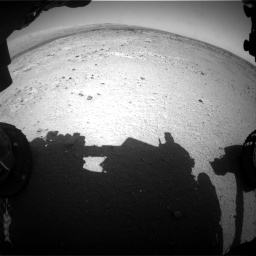 Nasa's Mars rover Curiosity acquired this image using its Front Hazard Avoidance Camera (Front Hazcam) on Sol 406, at drive 2088, site number 16