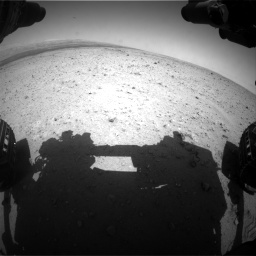 Nasa's Mars rover Curiosity acquired this image using its Front Hazard Avoidance Camera (Front Hazcam) on Sol 406, at drive 1722, site number 16