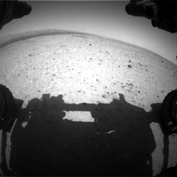 Nasa's Mars rover Curiosity acquired this image using its Front Hazard Avoidance Camera (Front Hazcam) on Sol 406, at drive 1728, site number 16