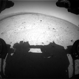 Nasa's Mars rover Curiosity acquired this image using its Front Hazard Avoidance Camera (Front Hazcam) on Sol 406, at drive 1746, site number 16
