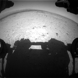 Nasa's Mars rover Curiosity acquired this image using its Front Hazard Avoidance Camera (Front Hazcam) on Sol 406, at drive 1800, site number 16