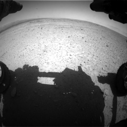 Nasa's Mars rover Curiosity acquired this image using its Front Hazard Avoidance Camera (Front Hazcam) on Sol 406, at drive 1818, site number 16