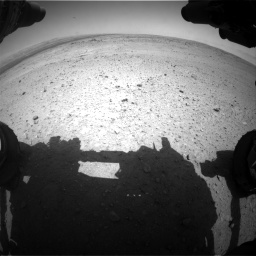 Nasa's Mars rover Curiosity acquired this image using its Front Hazard Avoidance Camera (Front Hazcam) on Sol 406, at drive 1926, site number 16