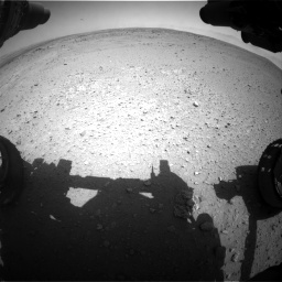 Nasa's Mars rover Curiosity acquired this image using its Front Hazard Avoidance Camera (Front Hazcam) on Sol 406, at drive 1998, site number 16