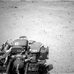 Nasa's Mars rover Curiosity acquired this image using its Left Navigation Camera on Sol 406, at drive 1818, site number 16