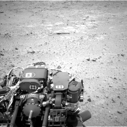 Nasa's Mars rover Curiosity acquired this image using its Left Navigation Camera on Sol 406, at drive 1980, site number 16