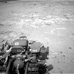 Nasa's Mars rover Curiosity acquired this image using its Left Navigation Camera on Sol 406, at drive 2088, site number 16