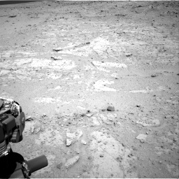 Nasa's Mars rover Curiosity acquired this image using its Right Navigation Camera on Sol 406, at drive 2120, site number 16