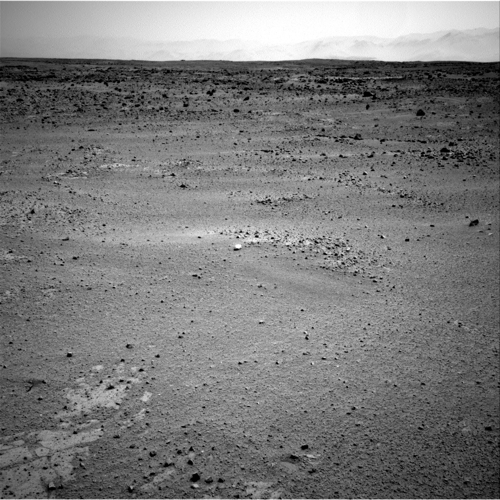 Nasa's Mars rover Curiosity acquired this image using its Right Navigation Camera on Sol 406, at drive 0, site number 17