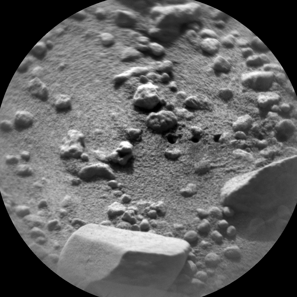 Nasa's Mars rover Curiosity acquired this image using its Chemistry & Camera (ChemCam) on Sol 406, at drive 0, site number 17