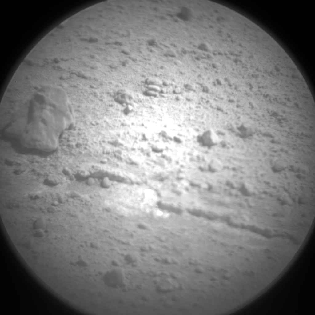 NASA's Mars rover Curiosity acquired this image using its Chemistry & Camera (ChemCam) on Sol 407