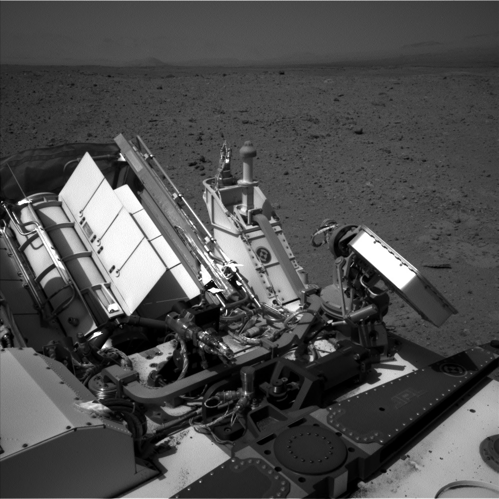 NASA's Mars rover Curiosity acquired this image using its Left Navigation Camera (Navcams) on Sol 408