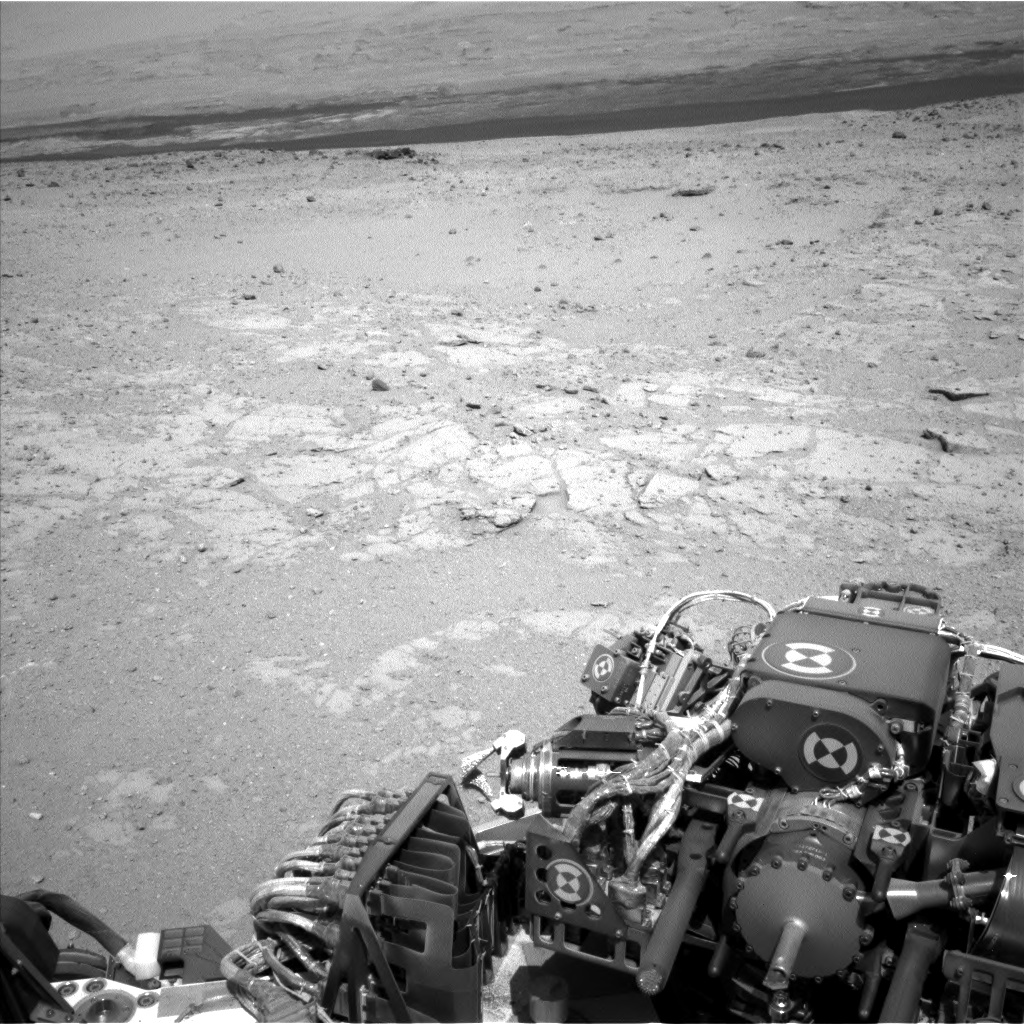 Nasa's Mars rover Curiosity acquired this image using its Left Navigation Camera on Sol 408, at drive 0, site number 17