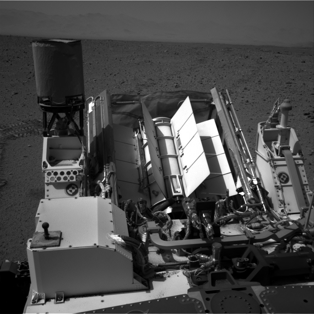 NASA's Mars rover Curiosity acquired this image using its Right Navigation Cameras (Navcams) on Sol 408