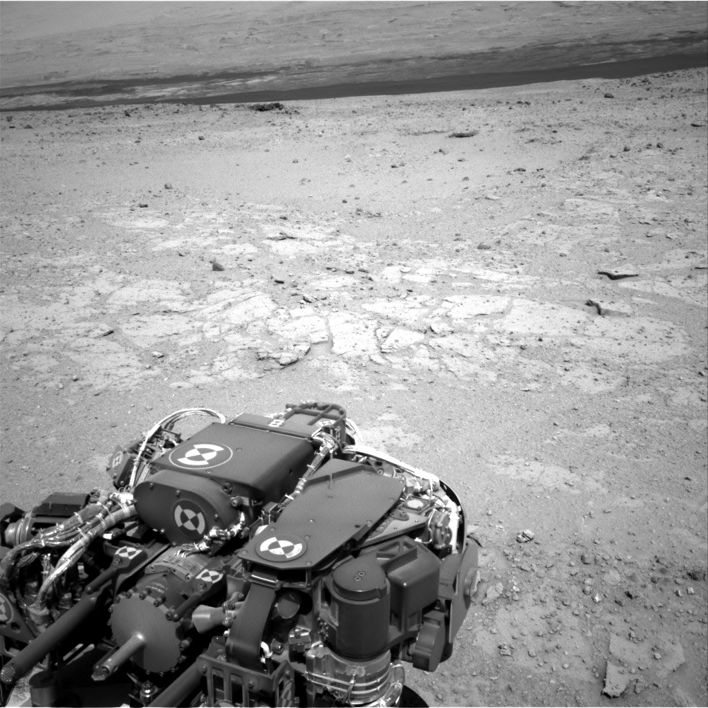 Nasa's Mars rover Curiosity acquired this image using its Right Navigation Camera on Sol 408, at drive 0, site number 17
