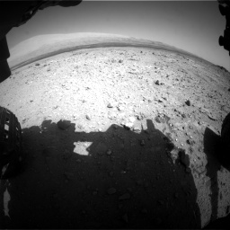 Nasa's Mars rover Curiosity acquired this image using its Front Hazard Avoidance Camera (Front Hazcam) on Sol 409, at drive 84, site number 17