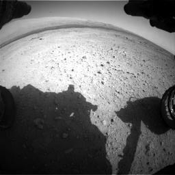 Nasa's Mars rover Curiosity acquired this image using its Front Hazard Avoidance Camera (Front Hazcam) on Sol 409, at drive 168, site number 17