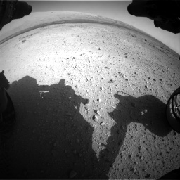 Nasa's Mars rover Curiosity acquired this image using its Front Hazard Avoidance Camera (Front Hazcam) on Sol 409, at drive 258, site number 17