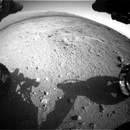 Nasa's Mars rover Curiosity acquired this image using its Front Hazard Avoidance Camera (Front Hazcam) on Sol 409, at drive 420, site number 17