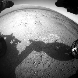 Nasa's Mars rover Curiosity acquired this image using its Front Hazard Avoidance Camera (Front Hazcam) on Sol 409, at drive 474, site number 17