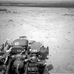Nasa's Mars rover Curiosity acquired this image using its Left Navigation Camera on Sol 409, at drive 114, site number 17